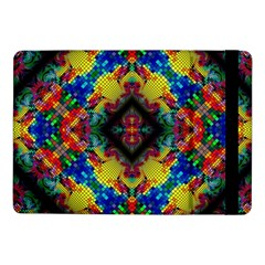Kaleidoscope Art Pattern Ornament Samsung Galaxy Tab Pro 10 1  Flip Case by Simbadda