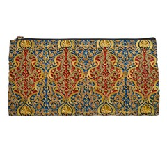 Wall Texture Pattern Carved Wood Pencil Cases by Simbadda