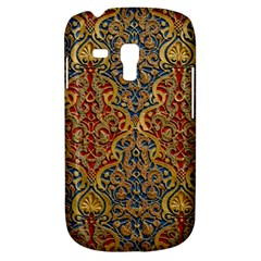 Wall Texture Pattern Carved Wood Samsung Galaxy S3 Mini I8190 Hardshell Case