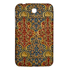 Wall Texture Pattern Carved Wood Samsung Galaxy Tab 3 (7 ) P3200 Hardshell Case