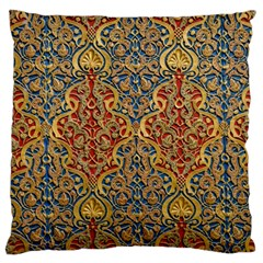 Wall Texture Pattern Carved Wood Standard Flano Cushion Case (two Sides)