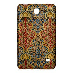 Wall Texture Pattern Carved Wood Samsung Galaxy Tab 4 (7 ) Hardshell Case