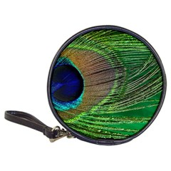 Peacock Feather Macro Peacock Bird Classic 20 Cd Wallets