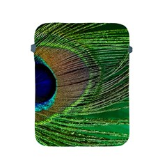 Peacock Feather Macro Peacock Bird Apple Ipad 2/3/4 Protective Soft Cases by Simbadda