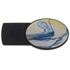Sun And Water Usb Flash Drive Oval (2 Gb)