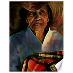 My Grandmother By Kiekie Strickland  Canvas 18  X 24  by flipstylezdes
