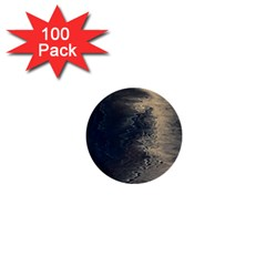 Midnight 1  Mini Buttons (100 Pack)