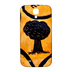 Ceramic Tree Smudge Samsung Galaxy S4 I9500/i9505  Hardshell Back Case