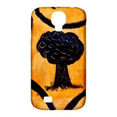Ceramic Tree Smudge Samsung Galaxy S4 Classic Hardshell Case (pc+silicone)