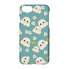 Cute Kawaii Popcorn Pattern Apple Iphone 7 Hardshell Case