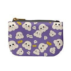 Cute Kawaii Popcorn Pattern Mini Coin Purse
