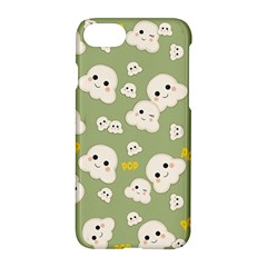 Cute Kawaii Popcorn Pattern Apple Iphone 7 Hardshell Case by Valentinaart