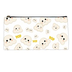 Cute Kawaii Popcorn Pattern Pencil Cases by Valentinaart