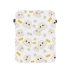 Cute Kawaii Popcorn Pattern Apple Ipad 2/3/4 Protective Soft Cases by Valentinaart