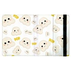 Cute Kawaii Popcorn Pattern Apple Ipad Pro 12 9   Flip Case by Valentinaart