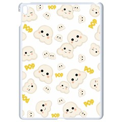 Cute Kawaii Popcorn Pattern Apple Ipad Pro 9 7   White Seamless Case by Valentinaart