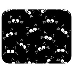 Cute Black Cat Pattern Full Print Lunch Bag by Valentinaart