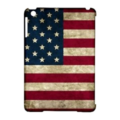 Vintage American Flag Apple Ipad Mini Hardshell Case (compatible With Smart Cover) by Valentinaart
