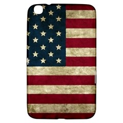 Vintage American Flag Samsung Galaxy Tab 3 (8 ) T3100 Hardshell Case  by Valentinaart