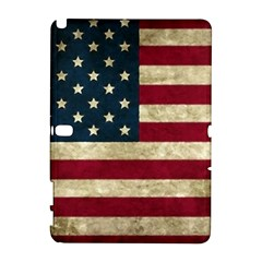 Vintage American Flag Samsung Galaxy Note 10 1 (p600) Hardshell Case