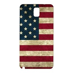 Vintage American Flag Samsung Galaxy Note 3 N9005 Hardshell Back Case