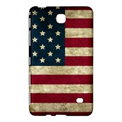 Vintage American Flag Samsung Galaxy Tab 4 (7 ) Hardshell Case  by Valentinaart