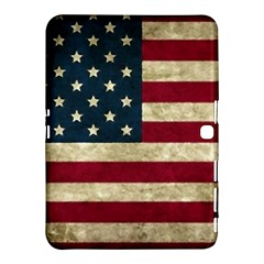Vintage American Flag Samsung Galaxy Tab 4 (10 1 ) Hardshell Case  by Valentinaart