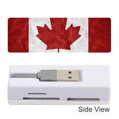 Canada Grunge Flag Memory Card Reader (stick)