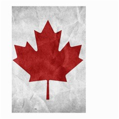 Canada Grunge Flag Small Garden Flag (two Sides) by Valentinaart