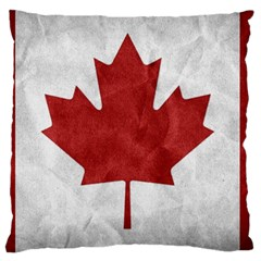 Canada Grunge Flag Large Cushion Case (two Sides)