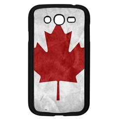 Canada Grunge Flag Samsung Galaxy Grand Duos I9082 Case (black)