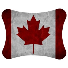 Canada Grunge Flag Jigsaw Puzzle Photo Stand (bow) by Valentinaart