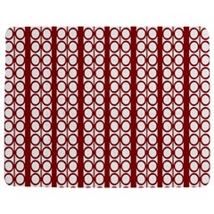 Circles Lines Red White Pattern Jigsaw Puzzle Photo Stand (rectangular)