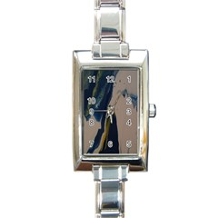 Wrath Rectangle Italian Charm Watch