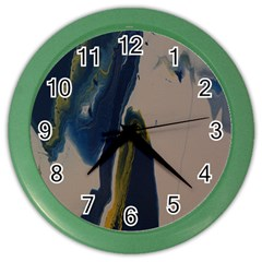 Wrath Color Wall Clock