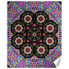 Decorative Ornate Candy With Soft Candle Light For Peace Canvas 16  X 20  by pepitasart