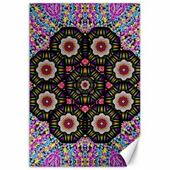 Decorative Ornate Candy With Soft Candle Light For Peace Canvas 20  X 30  by pepitasart