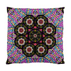 Decorative Ornate Candy With Soft Candle Light For Peace Standard Cushion Case (one Side)