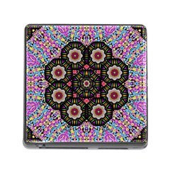 Decorative Ornate Candy With Soft Candle Light For Peace Memory Card Reader (square 5 Slot) by pepitasart