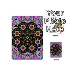 Decorative Ornate Candy With Soft Candle Light For Peace Playing Cards 54 (mini) by pepitasart