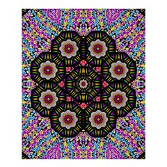 Decorative Ornate Candy With Soft Candle Light For Peace Shower Curtain 60  X 72  (medium)  by pepitasart
