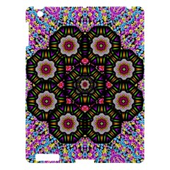 Decorative Ornate Candy With Soft Candle Light For Peace Apple Ipad 3/4 Hardshell Case by pepitasart