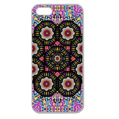 Decorative Ornate Candy With Soft Candle Light For Peace Apple Seamless Iphone 5 Case (clear) by pepitasart