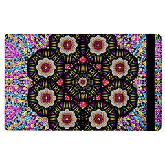 Decorative Ornate Candy With Soft Candle Light For Peace Apple Ipad 3/4 Flip Case by pepitasart