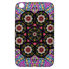 Decorative Ornate Candy With Soft Candle Light For Peace Samsung Galaxy Tab 3 (8 ) T3100 Hardshell Case
