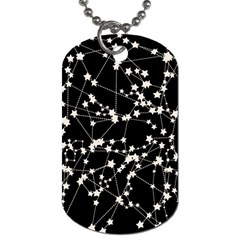 Constellations Dog Tag (one Side)
