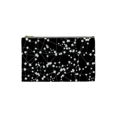 Constellations Cosmetic Bag (small) by snowwhitegirl