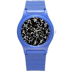 Constellations Round Plastic Sport Watch (s) by snowwhitegirl