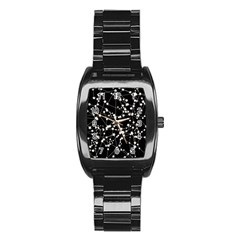 Constellations Stainless Steel Barrel Watch