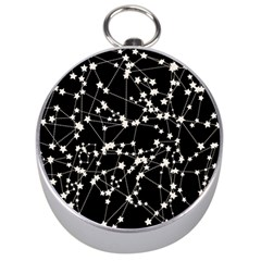 Constellations Silver Compasses by snowwhitegirl